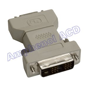 DVI to DFP Video Monitor Adapter - DVI-D Male  /  DFP (Digital Flat Panel) Female