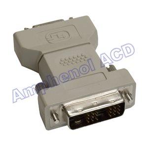DVI to DFP Video Monitor Adapter - DVI-D Male  /  DFP (Digital Flat Panel) Female