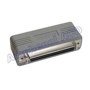 Low-Profile SCSI-3 to SCSI-2 SCSI Adapter - HPDB68 (HD68) Female  /  HPDB50 (HD50) Female