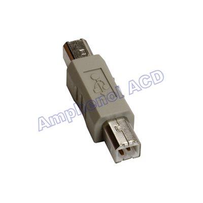 USB Type B to USB Type B Adapter - Type B Male  /  Type B Male