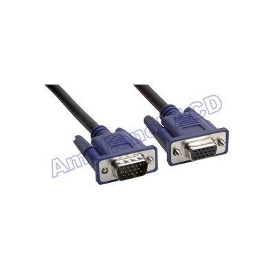SVGA 15-pin D-Sub Monitor Extension Cable - HD15 Male  /  HD15 Female