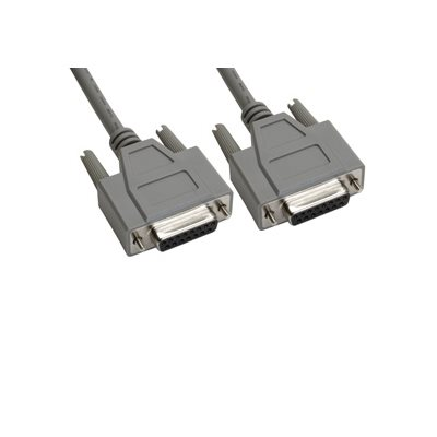 15-Pin (DB15) Deluxe D-Sub Cable - Copper Shielded - Female  /  Female