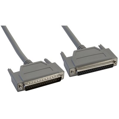37-Pin (DB37) Deluxe D-Sub Cable - Copper Shielded - Male  /  Female