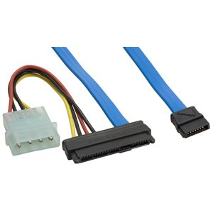 29 position SAS to SATA Drive Connector Single Data Lane Cable