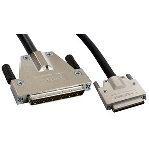 SCSI-5 (VHDCI) to SCSI-3 Cable - VHDCI .8mm 68-pin Male to HPDB68 (HD68) 68-pin Male