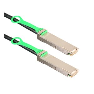 2m (6.6') 100GbE QSFP28 Cable - Amphenol 100-Gigabit Ethernet Passive Copper QSFP Cable (SFF-8665 802.3bj) - QSFP28 to QSFP28