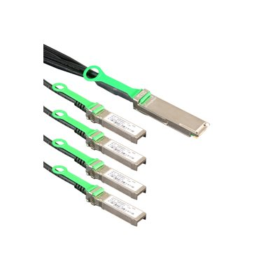5m QSFP28 to 4 x SFP28 Splitter Cable (26 AWG Passive Copper) - 1 x QSFP28 (100GbE) to 4 x SFP28 (25GbE) Connectors (16.4 ft)